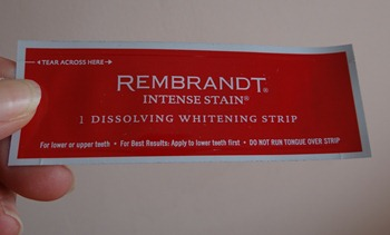 rembrant teeth whitening review