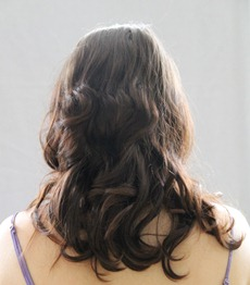 Schwarzkopf Perfect Mousse Rear Before