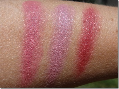MAC Casual Colour Swatches