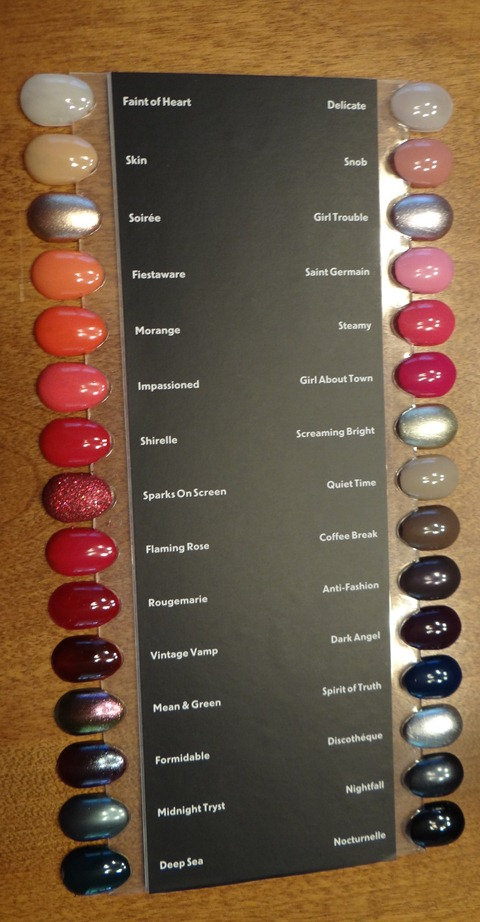 MAC Nail Polish Swatches