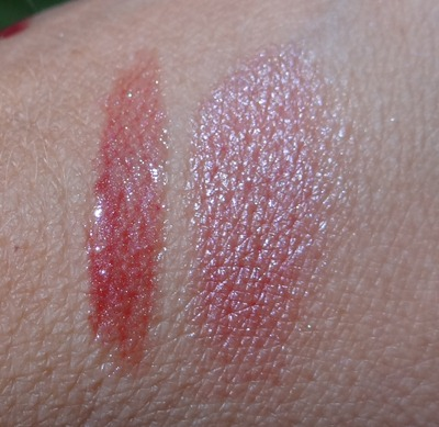 Rimnel and elf lip swatches