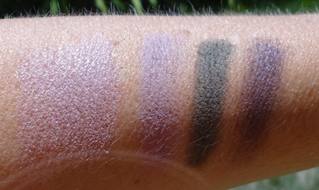 Nars High Society Swatches