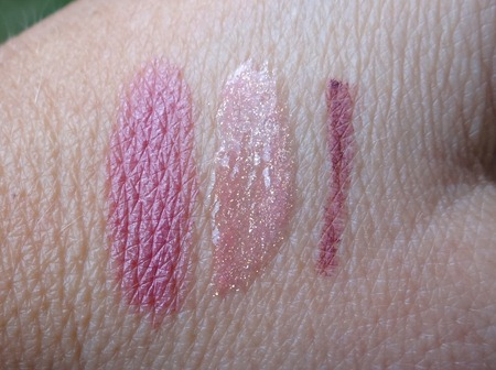 Senna Lip Sync Swatches