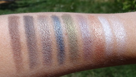 The Balm Shady Lady 2 Swatches