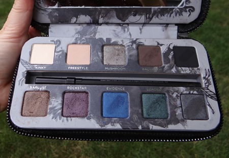Urban Decay SMoked Palette Review