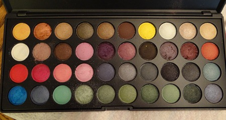 BH Cosmetics Party Girl Eye Shadow Palette