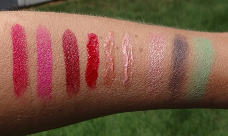 MAC By Request Swatches