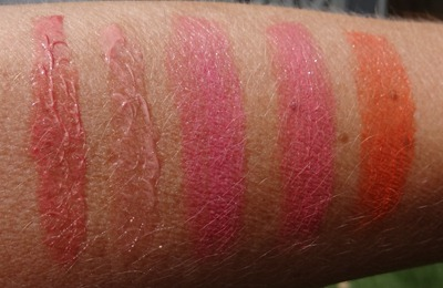 MAC Cremesheen   Pearl Swatches