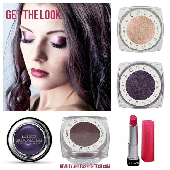 Purple Eye Look
