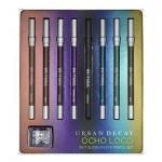 Urban Decay Ocho Loco Eye Pencil Swatches Holiday 2012