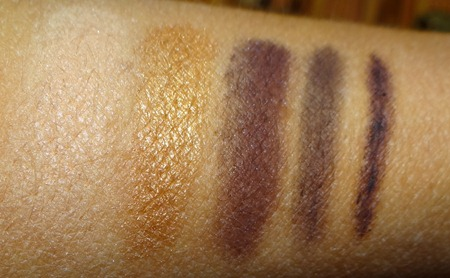 Smashbox Meet the Masters swatches