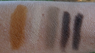 Carine Roitfeld Jungle swatches