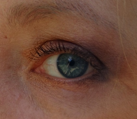 Fall makeup eye look