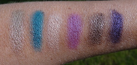 Urban Decay Fun Palette Swatches