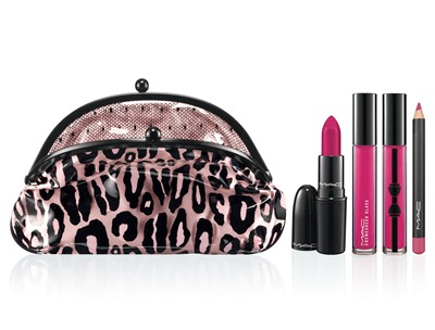 MAC Fabulousness Primped Out Lip Look Bag Luxurious Coral