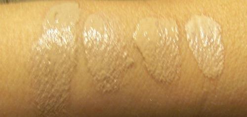 Skin 79 BB cream swatches