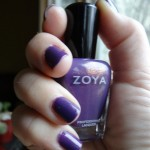 Blogging Against Bullying: Zoya Purple Manicure