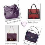 Perfect Purple and Plum Bags
