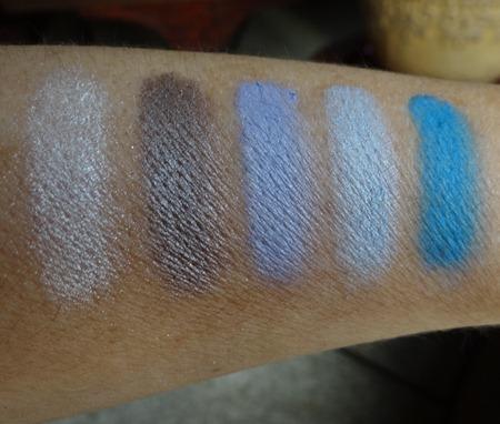 Cinderella Eye Shadow Palette Swatches