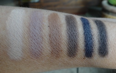 Laura Mercier Artist's For Eyes Swatches