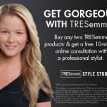 Get Free Hair Styling Advice In Your Own Home: TRESemmé LiveStyling