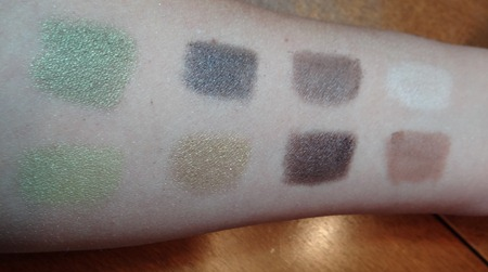Urban Decay Theodora Eye Shadow Swatches