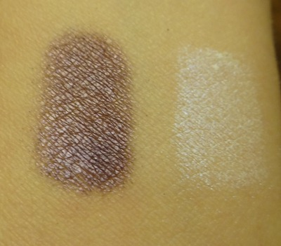 Urban Decay Tornado and Aura Swatch