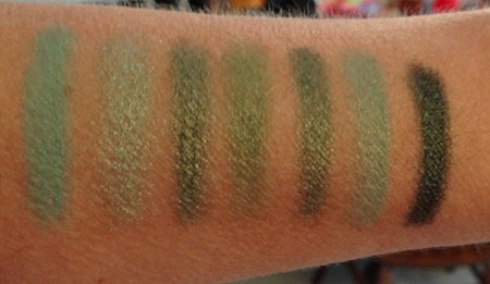BH Party Girl Green Swatches