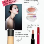 Get Ready For Spring With Armani Beauty