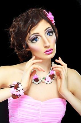 Sandra Barbie Makeup Look