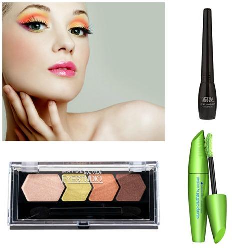 Maybelline Daring Eye Makeup Look