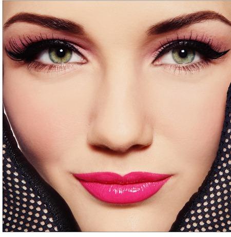 bright pastel lipstick
