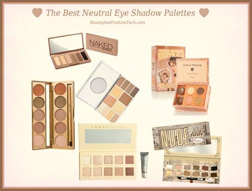 Best Neutral Shadow Palettes