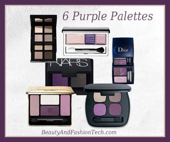 PurpleEyeshadowPalettes