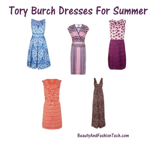 Tory Burch Dresses for summer