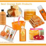 Nine Orange Bath and Shower Products