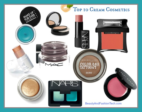 Top Ten Cream Makeup Products