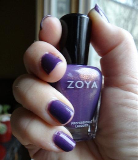 Zoya Tru Purple Polish
