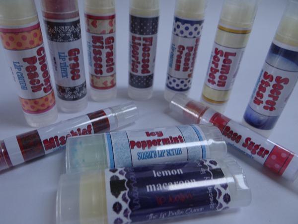 For Goodness Grape Lip Balms
