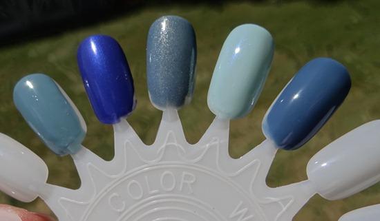 Blue Nail Polish Swatches