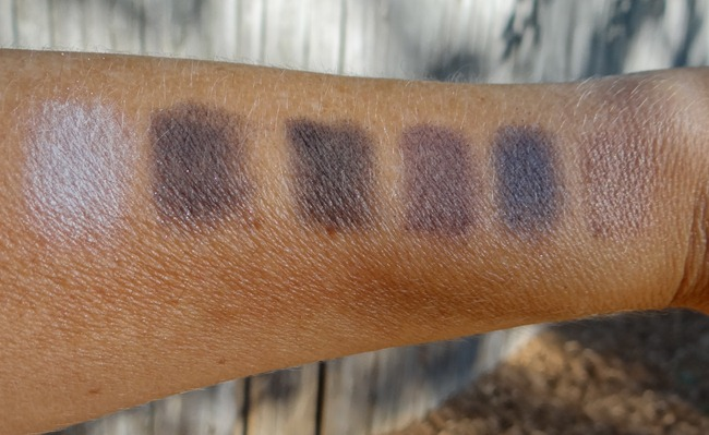 NYX Parallel Box Smoky Swatches