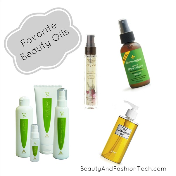 Favorite Beauty Oils