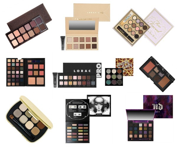 Top Ten Makeup Palettes | Beauty And Fashion Tech