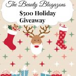 Win $500 in the Beauty Blogazons Holiday Giveaway