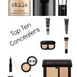 Top Ten Concealers