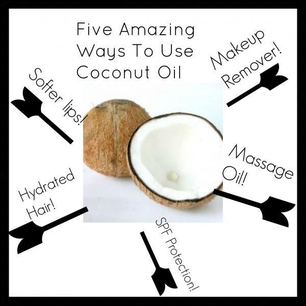 coconut oil five