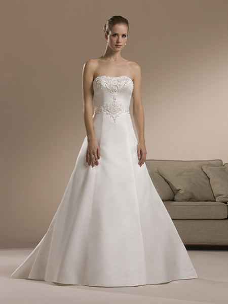 wedding dress for a tall woman