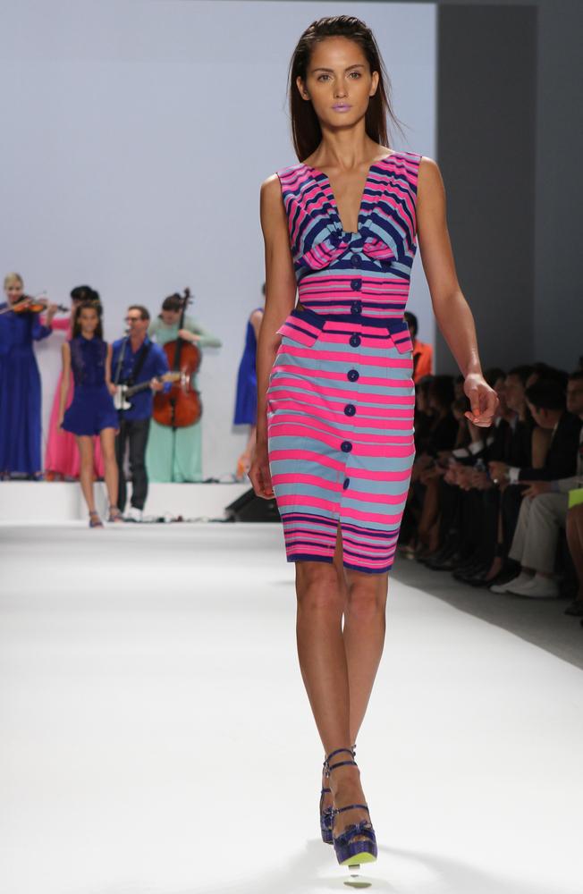 Bright colored fashion