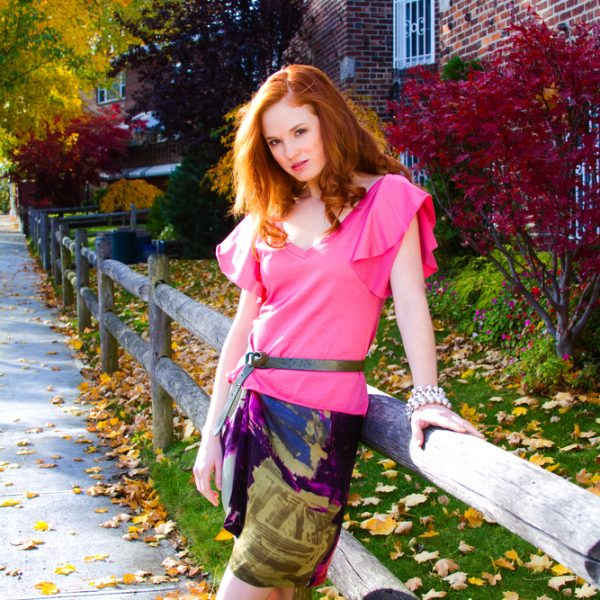 Fashion Contrasting Colors