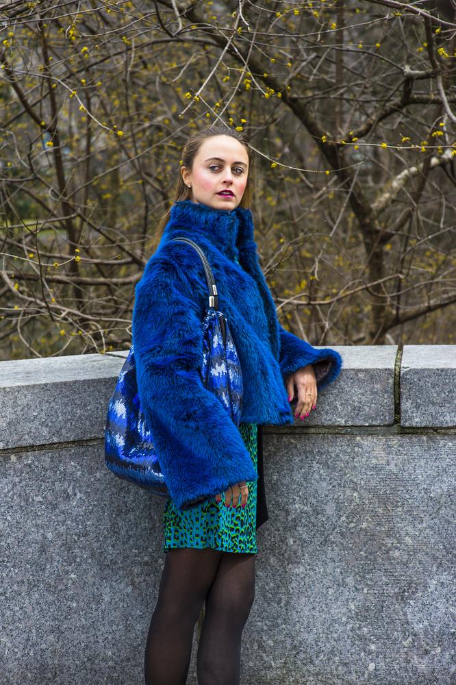 Mixing fashion patterns